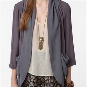 Urban Outfitters Kimchi Blue open cardigan top